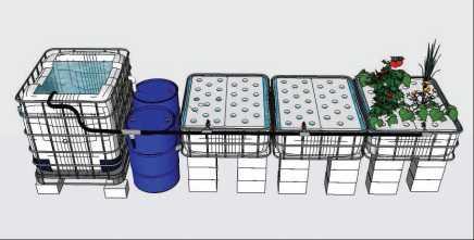 3 tutoriels pour fabriquer son kit aquaponique aquaponie - Regles de construction en limite de propriete ...